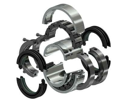Enhanced Replacement Split Roller Bearings and Seals