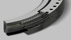 100 Series slewing ring bearing