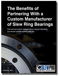 Benefits of Partnering With a Custom Manufacturer of Slew Ring Bearings thumbnail