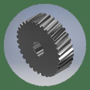 Rhino Gear Helical Gear