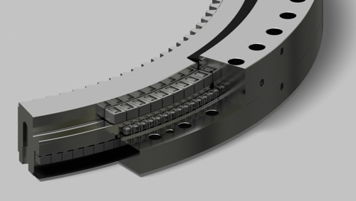Triple Roller Slewing Ring Bearing